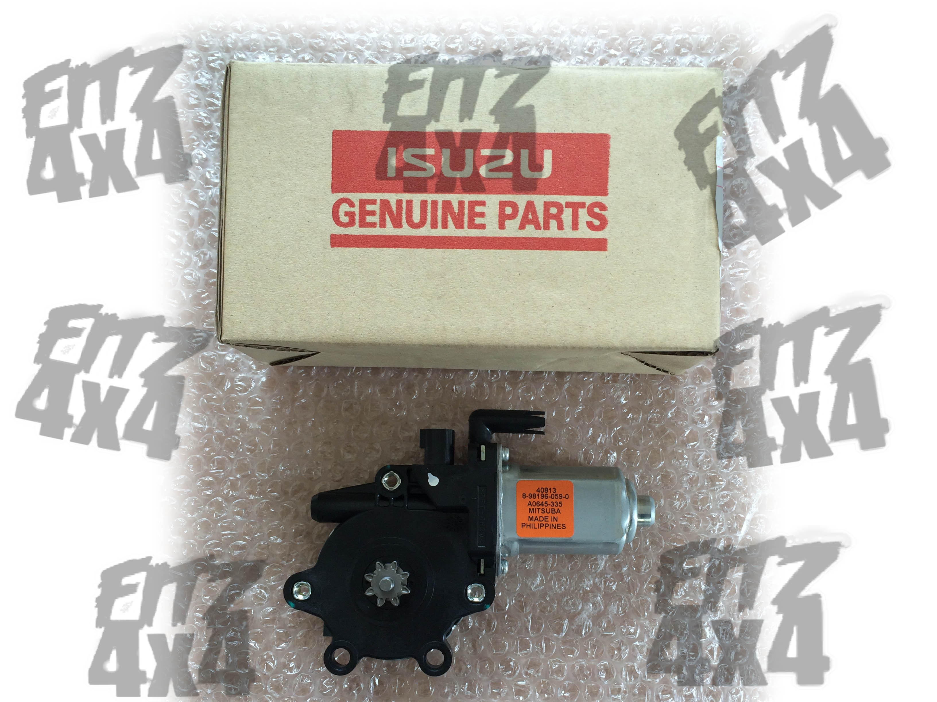 2003-2012 D-Max Front Right Window Motor